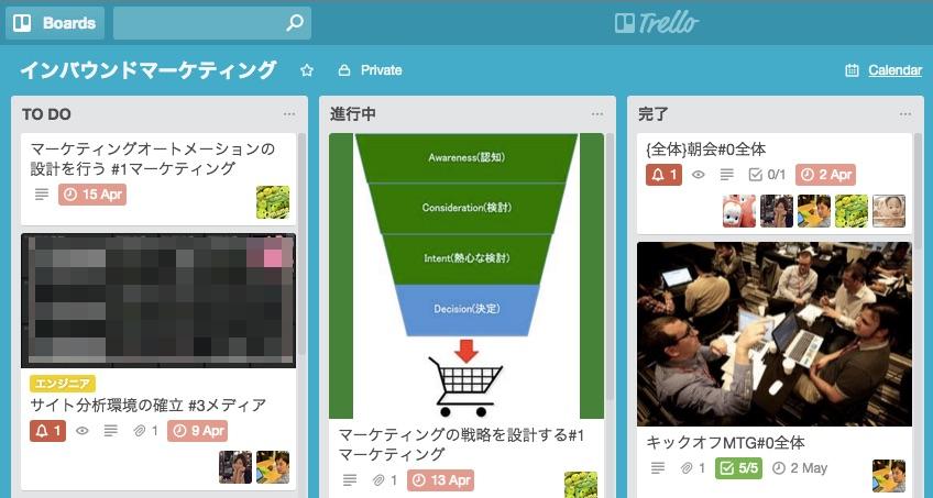 Trello Webアプリ