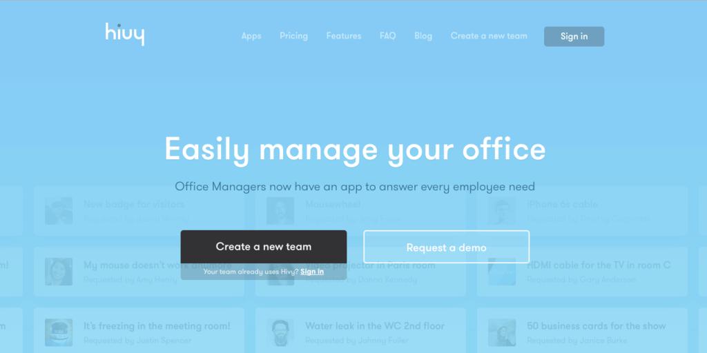 オフィスに不満はありませんか? 働く環境を劇的に改善する、フランス発のオフィス管理ツール「Hivy」とは