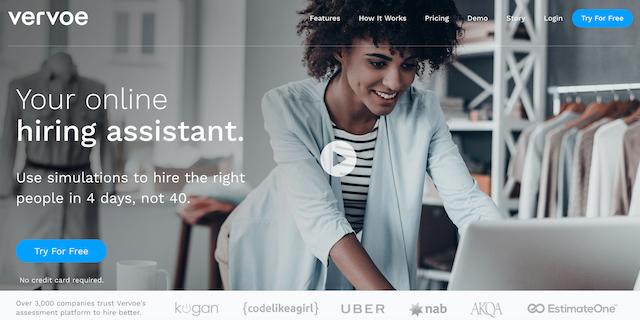 Uberも使う採用アシスタント!「ビデオインタビュー」で面接を効率化するVervoeとは