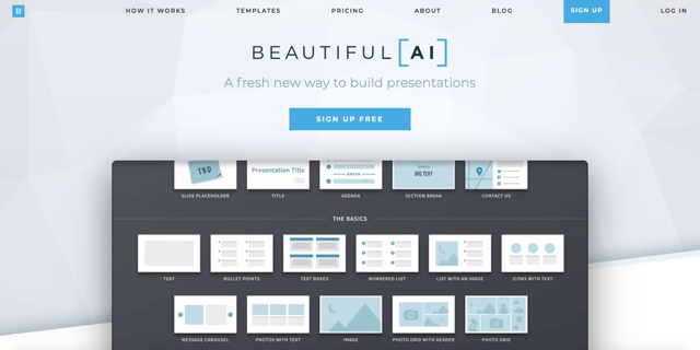 もうプレゼン作成で迷わない!AIが資料レイアウト・配色を最適化する「Beautiful.AI」