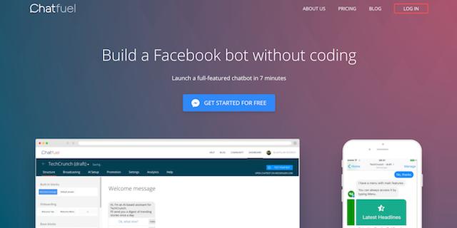 顧客やユーザーを自動でナビゲート!無料で誰でも「bot」が作れる、Chatfuelとは
