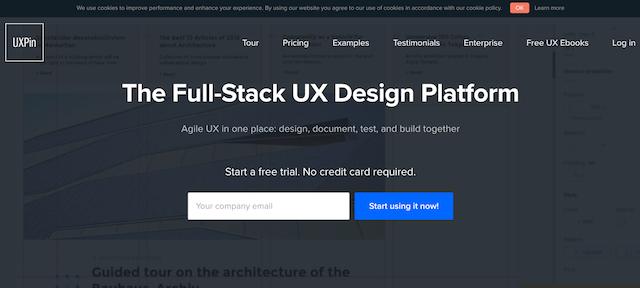 万能UXデザインツール「UXPin」!プロトタイプ制作からデザインレビューまで