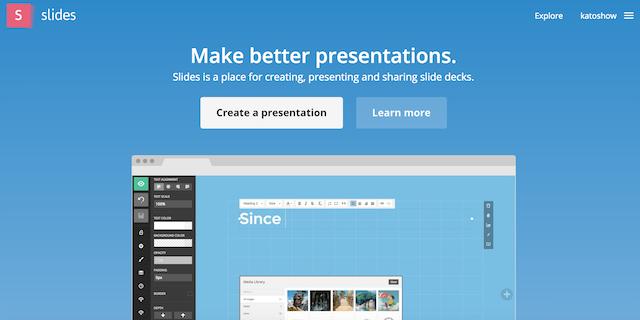 PowerPointとおさらば!?プレゼン資料の作成を劇的に効率化する「Slides」とは